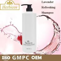 Quality Mild Herbal Hair Shampoo Facial Cleansing SPA Lavender Refreshing 1000ml for sale