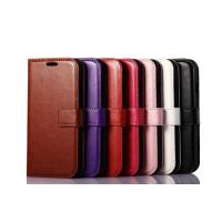 Buy Side Open Custom Wallet Cell Phone Case , Horse Magnetic Leather Case Apple at wholesale prices