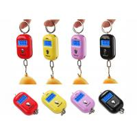 Quality Red Pink Yellow Mini Portable Electronic Luggage Scale 25 Kg Colorful Gift Items for sale