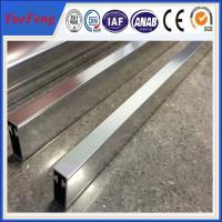 Quality Aluminium frame for whiteboard/door frame, andozied and polish profiles aluminum extrusion for sale