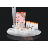 Quality Store Transparent Advertising Display Stand For Cosmetics Display for sale