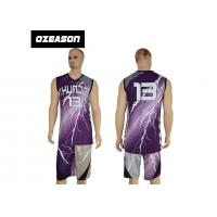 Quality Hotsale Sublimated Custom Logo Quick Dry Basketball Jersey For Sale for sale