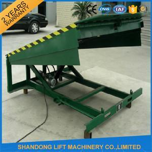 8 Ton Steel Yard Ramp Truck Loading Dock Leveler