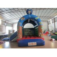 Quality Indoor Small Inflatable Jump House 4.2 X 4m 0.55mm Pvc Tarpaulin Fire Resistance for sale