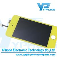 Quality Yellow 960×640 Pixel 3.5 Inches Cell Phone LCD Screen Replaceme For iPod Touch 4 Gen for sale