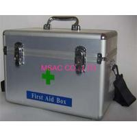 Quality Multifunctional Doctor First Aid Box , Metal First Aid Kit MS-FA-12 With Lock for sale