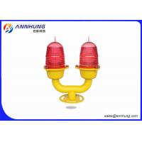 Quality L810 Low Intensity Double LED Aviation Obstruction Light Polycarbonate Body for sale