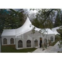 Quality Customized  Mixed  Marquee Tents White Tent Frabic For Outdoor Party  Event for sale