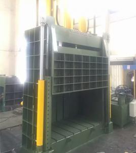 Quality 12.5 Mpa System Pressure , Hydraulic Scrap Paper Baling Press Machine for sale