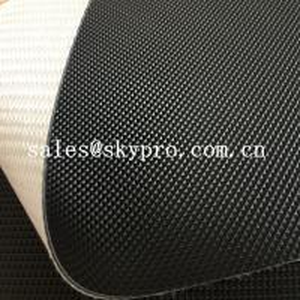 China Fitness Treadmill PVC Conveyor Belt High Performance Industrial Golf Pattern Surface on sale