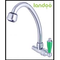 China Wall-Mounted Single Cold Kitchen Faucet on sale