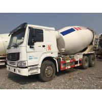 Quality HOWO Brand Used Concrete Mixer Truck 340hp Rated Power For Construction for sale