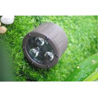 Quality 3 LED Landscape Spotlight Color Temperatures 3000K 35 ° Beam Angles for sale