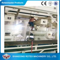 China YGKJ450 Electric used Large capacity bio fuel pellet mill production line on sale