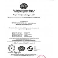 JiangSu DaLongKai Technology Co., Ltd Certifications