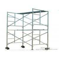 Quality Ladder Scaffolding Frame System Safety A Scaffolding Climbing Frame Customized Size for sale