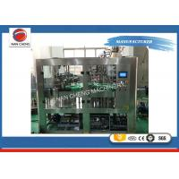 Quality Automatic Liquid Carbonated Water Glass Bottle Beer Washer Capping Filling Machine for sale