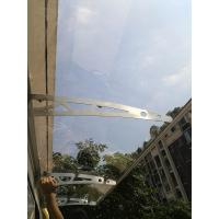 Quality Stainless steel door canopy DIY Awning PC board canopy Anwing of balcony for sale