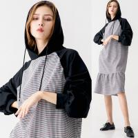 Fall Clothing Sweatshirt and Hoodie Dress For Women for sale