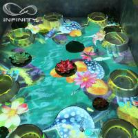 Quality Children Playground 3D Interactive Floor Projector , Infinity Interactive Floor Projection System for sale
