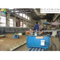 Quality Continuous FRP Winding Machine For Glass Steel Storage Tanks / Pipelines Production for sale