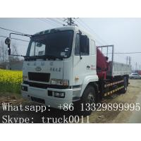 Quality CAMC 4*2 8ton-12ton truck crane for sale for sale