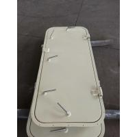 Marine Singe Leaf Aluminum Weathertight Door With Stainless Steel Accessories