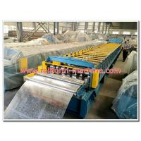 China Metal Floor Decking Tile Panel Making Machine Good Quality Made in China on sale