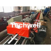 Quality 39 / 42 / 45 / 55 / 65 / 77mm PU Foam Roller Shutter Door Slat Roll Forming Machine With Servo Flying Saw Cutting for sale
