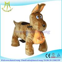 Quality Hansel high qulity battery operated plush motorized animals for mall for sale
