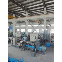 China Double stage PP film granulator , Recycle PP Granules Making Machine 80 ~ 1200kg/h on sale