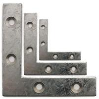 Quality Polished Small Metal Angle Brackets Auto Use Anti Corrosion 0.15mm Thickness for sale