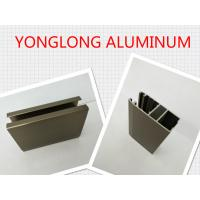 Quality Electrophoresis Matte Or Flat Bronze Aluminum Window Profiles Length Shape Customized for sale