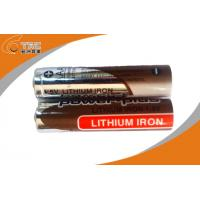 Quality High capacity 1.5V AAA / L92 Primary Lithium Iron Battery with High Rate for sale