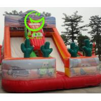 Buy Hot selling  inflatable car slide with 24months warranty GT-SAR-1638 at wholesale prices