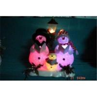 Buy cheap Christmas Gift Colorful Lamp with Singing Snowmen from wholesalers