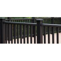 Quality Anti Corrosion Composite Wood Decking , Environmental Friendly Plastic Deck Railing for sale