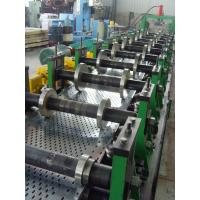 Quality 200 - 500mm Width Cable Tray Scaffolding Walk Board Rolling Form Machine 4 - 6 M / Min for sale