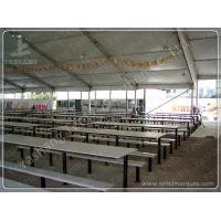 China Beer Festival PVC Clear Span Tents Waterproof Marquee Hire 20x50M 1000 Sqm on sale