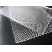 Quality 3D Lenticular Lens Sheet 16lpi 120cmx240cm 6mm lenticular board for 3D lenticular wedding photo and big size 3d print for sale
