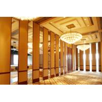 Aluminium Sliding Partition Walls for Banquet Hall / Soundproof Wall Panels