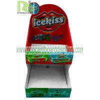 China Sweet Cardboard Retail Display Stand / Candy Corrugated Cardboard Displays ENCD120 on sale