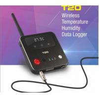 Quality T20 wireless temperature humidity data logger , temperature/humidity recorder for sale
