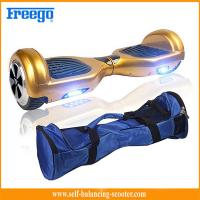 Quality Gold Sports Entertainment Self Balancing Scooter Segway Hover Wheel Board for sale