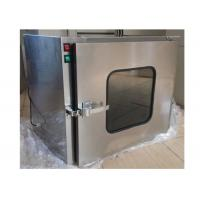 Quality Small Stainless Steel 201 Dynamic Cleanroom Through Pass Box For Laboratory for sale