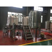 Quality Small Capacity Beer Brewing System 10Hl Fermentation Tanks Stainless Steel Fermenter for sale