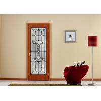 Doors Window Decorative Patterned Glass Thermal Sound Insulation Keep Warm