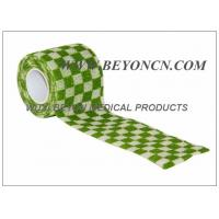 Quality Printed Cohesive Elastic Bandage For Human Vet  Pet Joints Immobilization for sale
