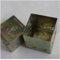 """Buy cheap North American Knockout Box 4"""" Square Drawn Metal stamping processing , Wall from wholesalers"""