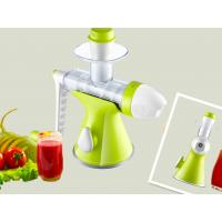 Orange / Lemon Mini Ice Cream Maker , Manual Slow Juicer ...
